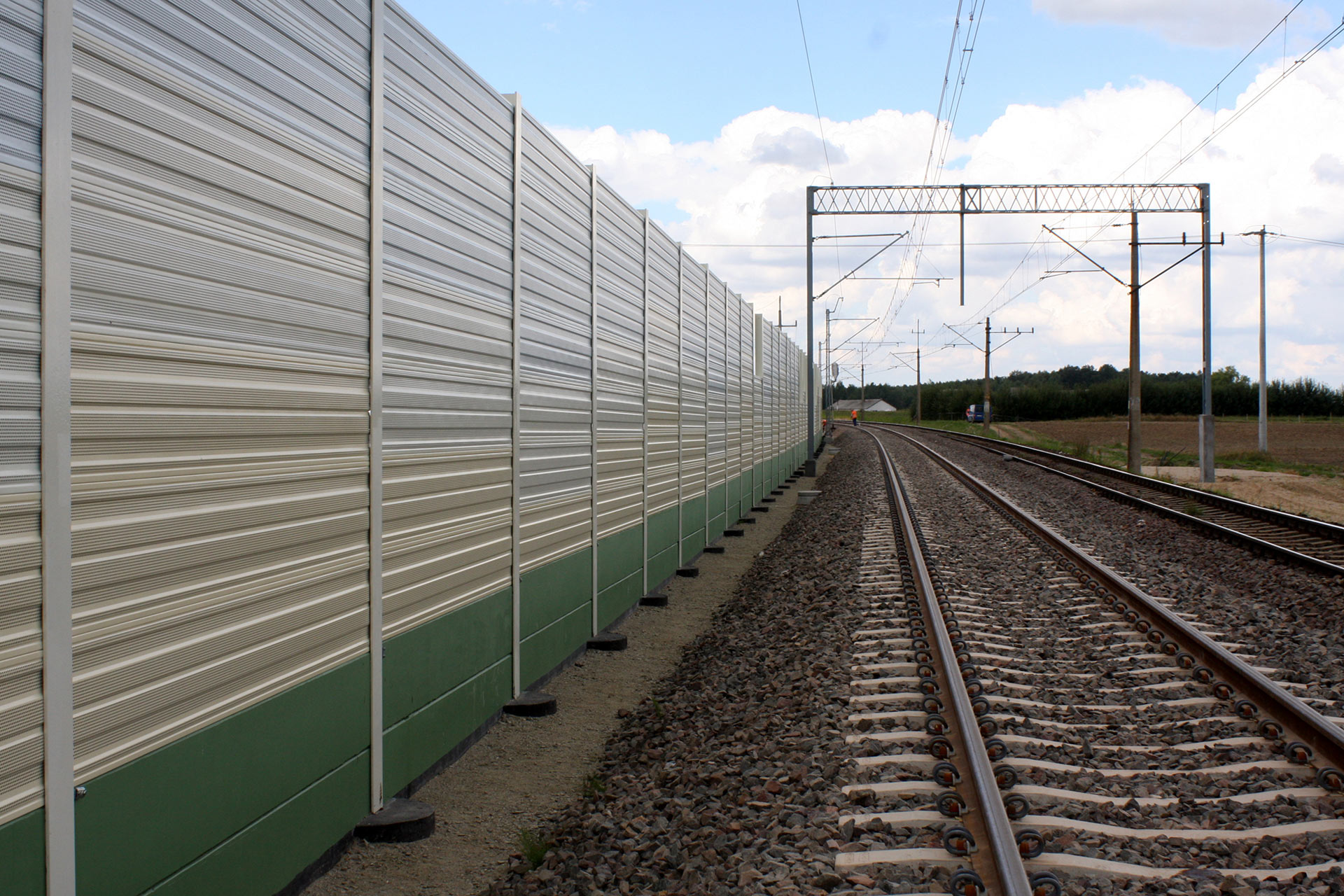 Aluminium Noise Barrier Panels Multivario d.o.o.