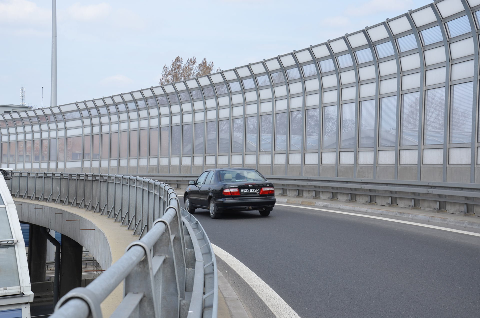 Transparent Noise Barrier Panels Multivario D O O