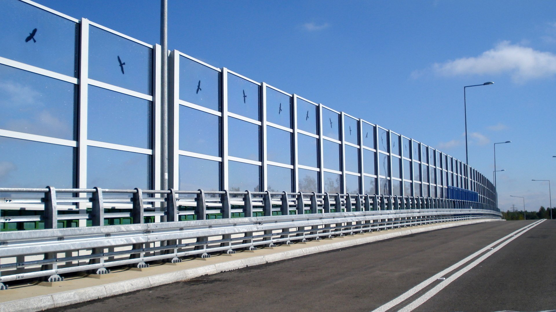 Transparent Noise Barrier Panels Multivario D O O
