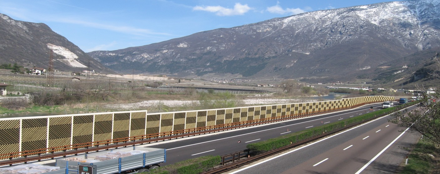 Wooden noise barriers