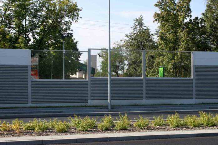 Combined noise barriers