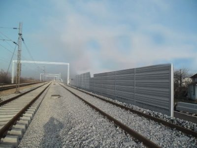 Noise barriers-railways
